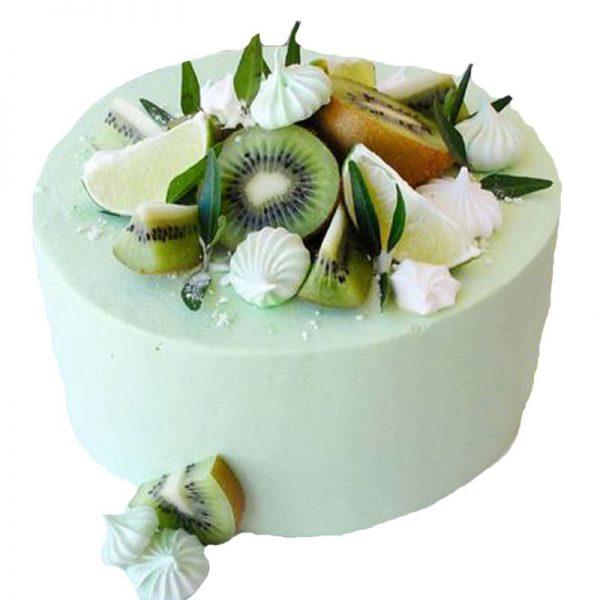 Торт пісний мятна ківі