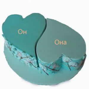 Торт Тяжіння сердець