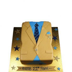 Торт Золотий піджак