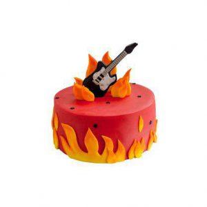 Торт Вогняна гітара