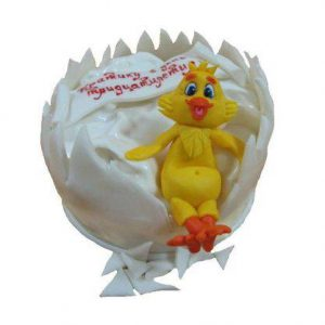 Торт Курча в шкаралупі