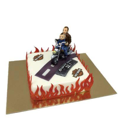 Торт Стильний байкер