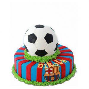 Торт з футбольним мячем