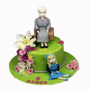 Торт Бабуся і внучка