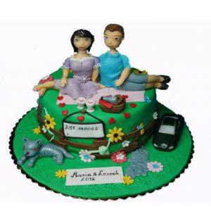 Торт Щаслива пара