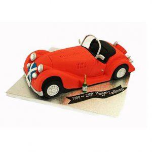 Торт Червоний автомобіль