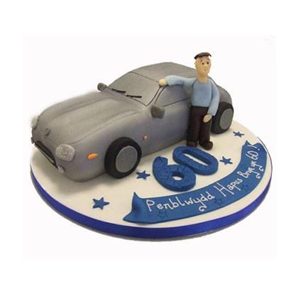 Торт Авто до шістдесятиріччя