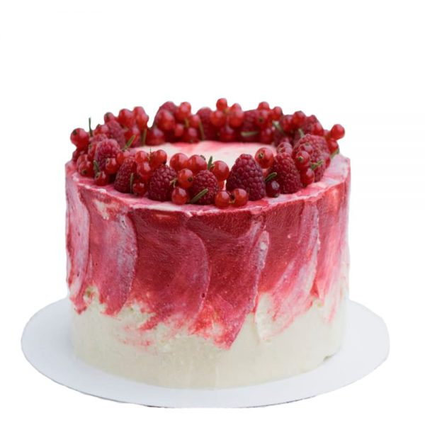 Торт пісний лісові ягоди