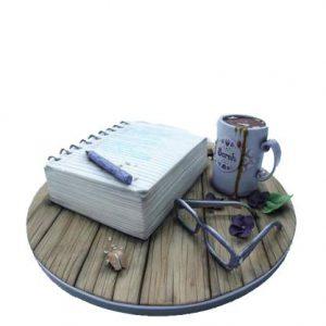 Торт Нотатки письменника
