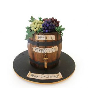 Торт Виноградний бочонок