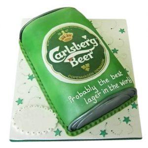 Торт Банку Carlsberg Beer