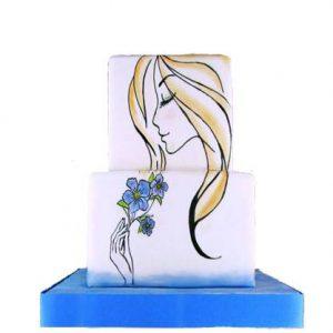 Торт Ескіз Романтика